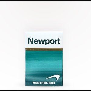 5 packs of Newport Box 100 Cigarettes